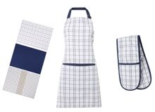 Linea Simple Check Kitchen Linens