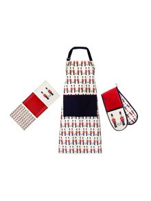 Linea Nutcracker Kitchen Linen Range