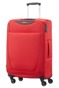 Samsonite Base hits red soft luggage set