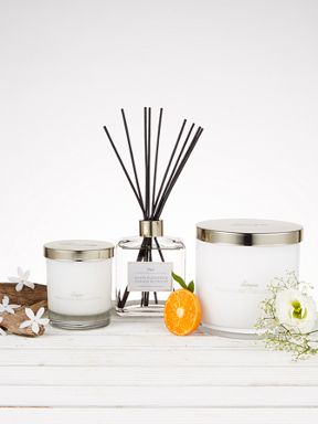 Linea White Flowers & Orange Blossom Range