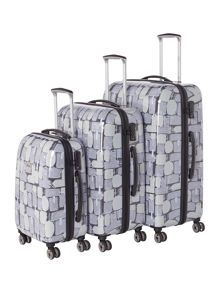 Linea Explore 8 wheel luggage set