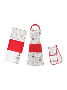 Linea London kitchen linen range