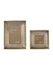 Living by Christiane Lemieux Textured Metal Frame Range