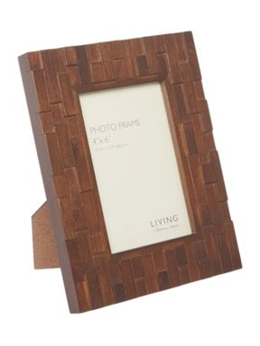 Living by Christiane Lemieux Brick Wood Frame Range