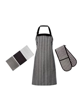 Linea Butcher Stripe Kitchen Linen Range