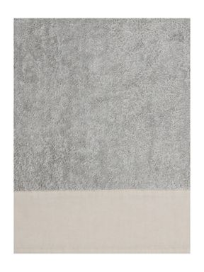 Gray & Willow Linen stonewashed towel range in grey