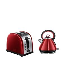Russell Hobbs Legacy Red Kitchen Electricals Range