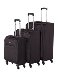 Antler Salisbury Black Luggage Set