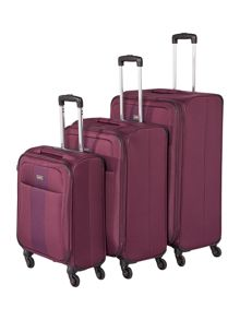 Antler Salisbury Purple Luggage Set