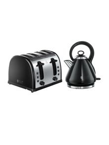 Russell Hobbs Legacy Black Kitchen Electricals Range