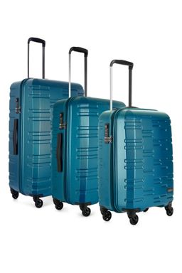 Antler Prism Teal 4 Wheel Hard Luggage Set