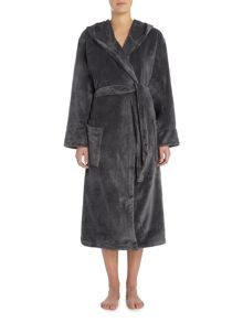 Linea Fleece robe range in charcoal