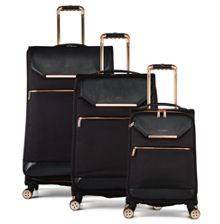 Ted Baker Albany Black Luggage Set
