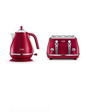 Delonghi Element flame toaster and kettle range