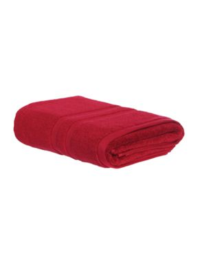 Luxury Hotel Collection Supima cotton towel range in burgundy