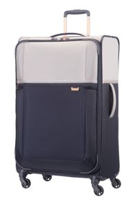 Samsonite Uplite Pearl & Navy 4 Wheel Luggage Set