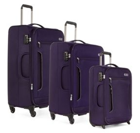 Antler Cyberlite II Purple Luggage Set