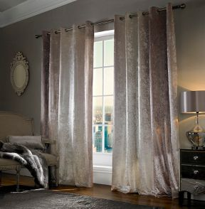 Kylie Minogue Natala curtains range in champagne