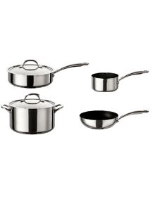 Circulon Ultimum stainless steel pan range