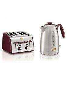 Tefal Maison red kitchen electricals range