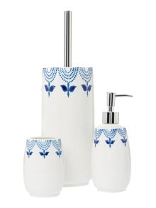 Dickins & Jones Tulip bath accessory range