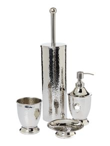 Casa Couture Hammered metal accessories range