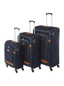 Samsonite Caphir Navy 4 Wheel Luggage Range