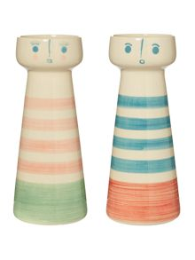 Dickins & Jones Sailor & Sweet Girl Vase Range