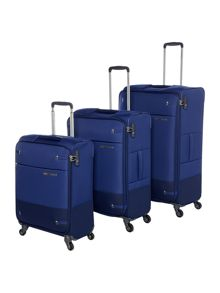Samsonite Base Boost Blue 2 Wheel Luggage Set