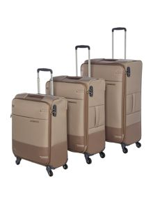 Samsonite Base Boost Walnut Luggage Set