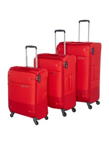 Samsonite Base Boost Red Luggage Set