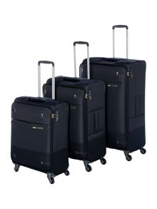 Samsonite Base Boost Black Luggage Set