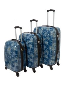 Linea Journey 4 Wheel Luggage Set