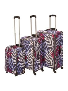 Linea Tropic Soft Print Lugagge Set