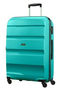 American Tourister Bon Air luggage set in turqoise
