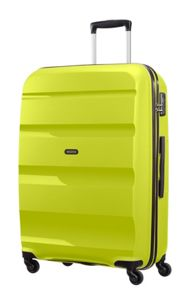 American Tourister Bon Air luggage set in lime green