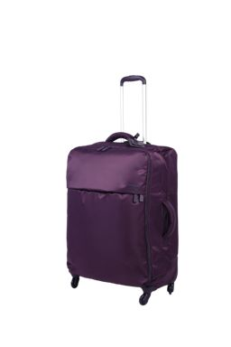 Lipault Original Plume luggage set in purple