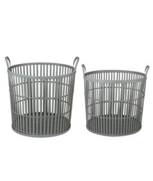 Gray & Willow Jonah Bamboo Panel Basket Range