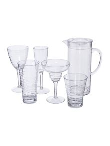 Linea Clear Wave Drinkware Range