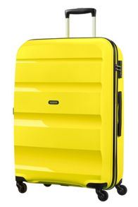 American Tourister Bon Air Solar luggage set in yellow