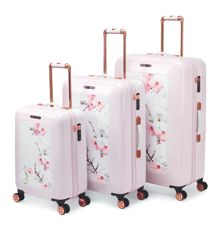 Ted Baker Oriental Blossom 4 Wheel Luggage Range