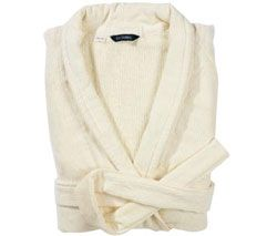 Luxury Egyptian Robe S M Parchment by Christy