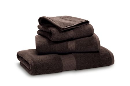 Ralph Lauren Home Avenue brown wash towel