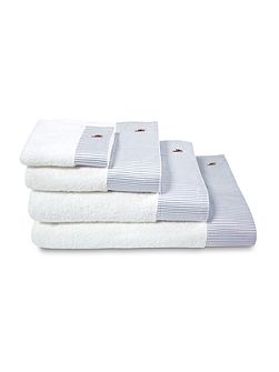 Oxford bleu hand towel