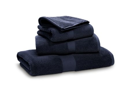 Ralph Lauren Home Avenue midnight bath sheet