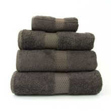 Yves Delorme Etoile bath linen range in taupe