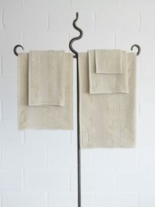 Core bath towels in canvas