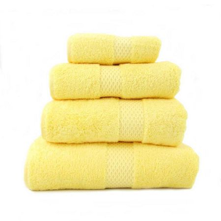 Yves Delorme Etoile mimosa guest towel