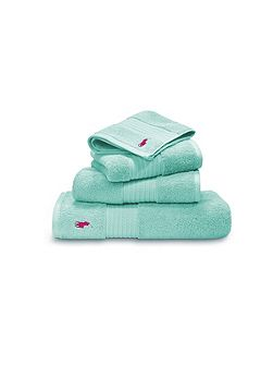 Player aqua guest towel