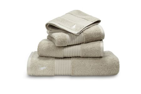 Ralph Lauren Home Player dune wash towel